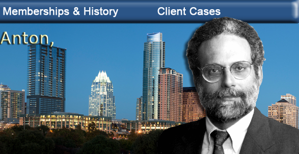 Richard Anton, Austin Texas board certified attorney, consumer & commercial law. bankruptcy lawyer, real estate disputes, business disputes